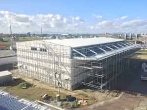 創業10周年事業 九州第二工場 完成